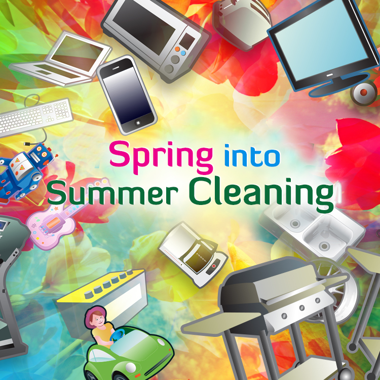 Spring into Summer Cleaning