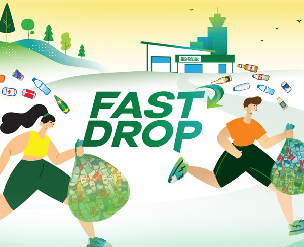 Introducing our new recycling drop-off service—Fast Drop!
