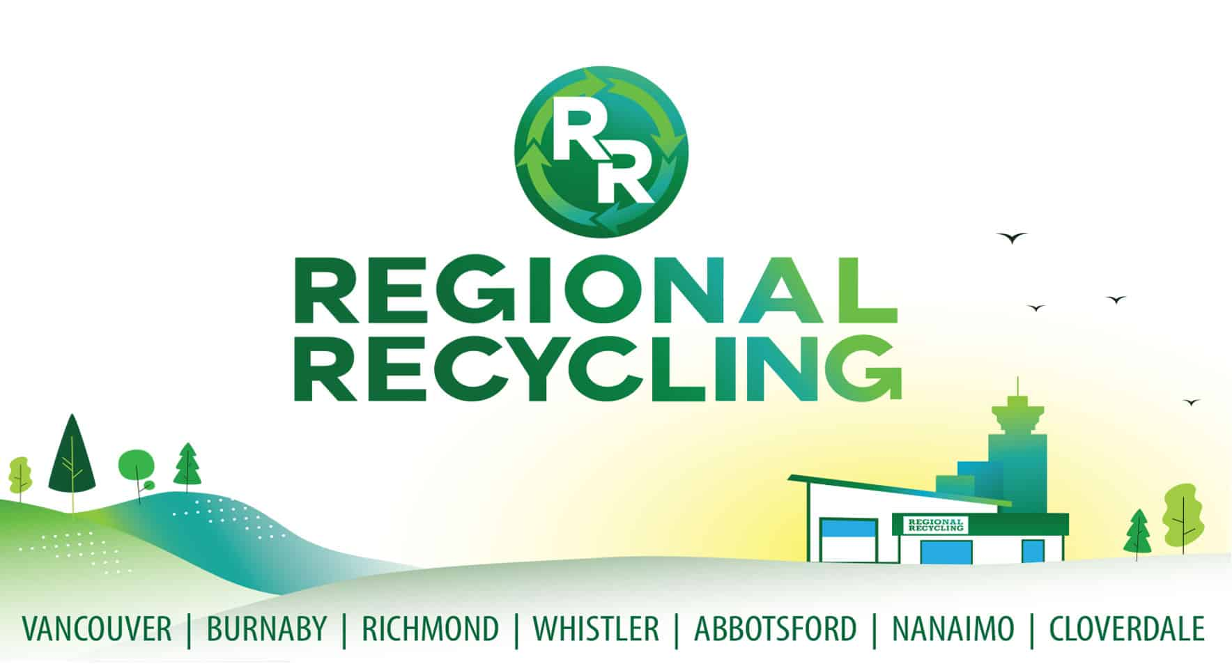 Our local recycling company has served in many locations in the Greater Vancouver area.