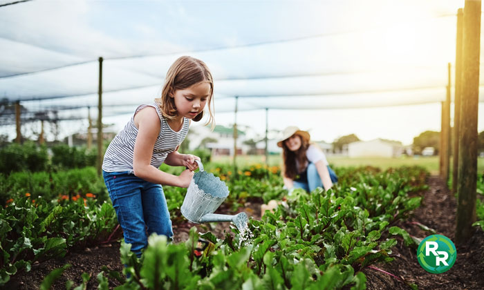 Family Garden Composting